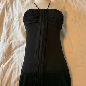 BCBC Max Azria black maxi dress.